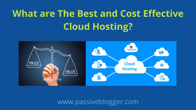 Best and Cost Effective Cloud Hosting